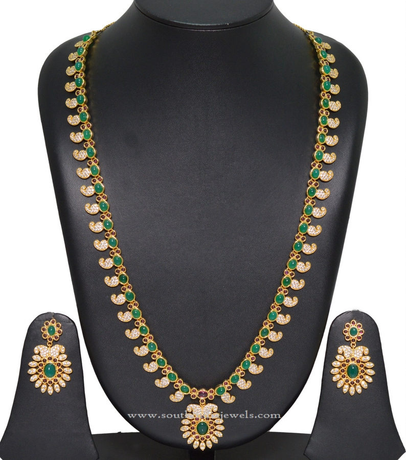 Gold Plated Necklace set with Price