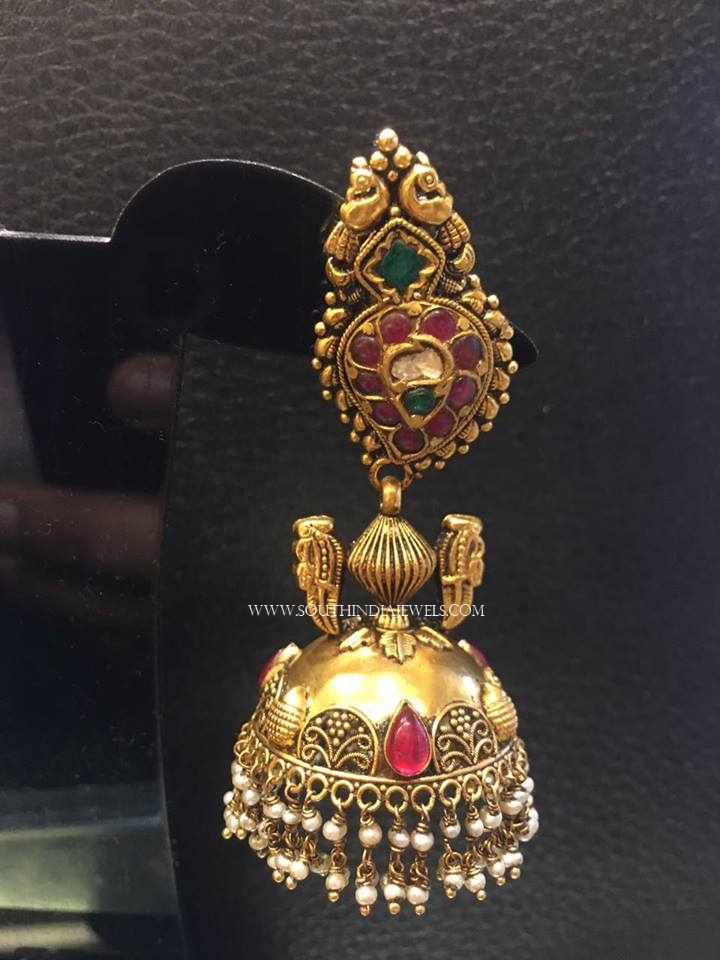 Gorgeous Antique Jhumka