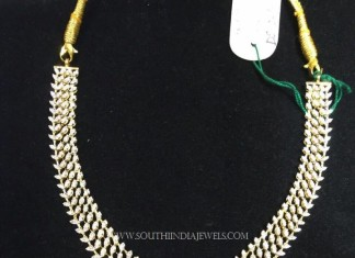 Grand Designer Diamond Necklace with Emerald