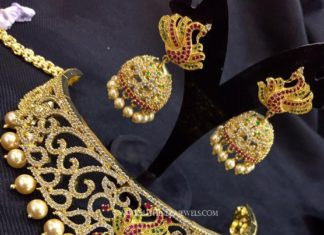 Imitation Choker With Jhumka