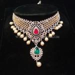 Fancy Diamond Choker Necklace