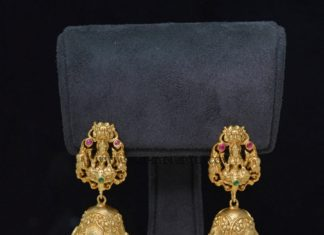 Lakshmi Jhumka Design 2017