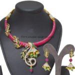 One Gram Gold Designer Necklace Set