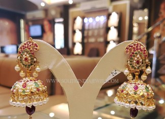 Pearl Jhumka Model