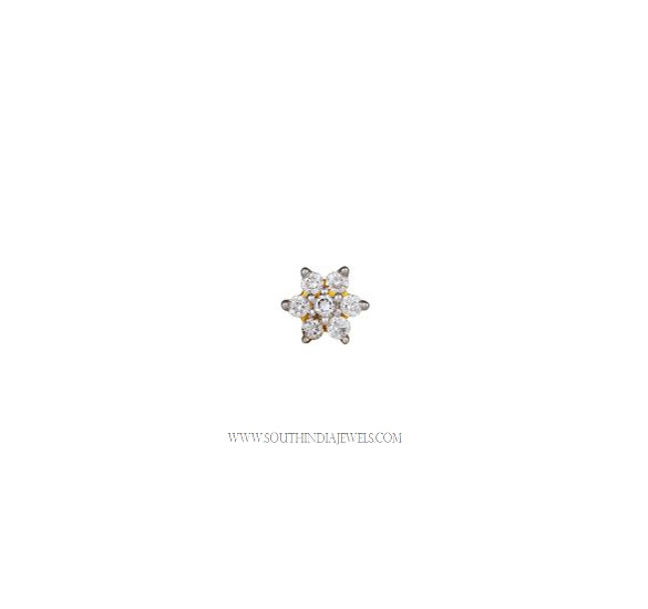 Tanishq Diamond Nose Pin Prices 1000