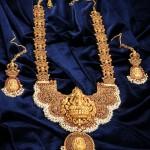 Stunning Temple Jewellery Haram Design