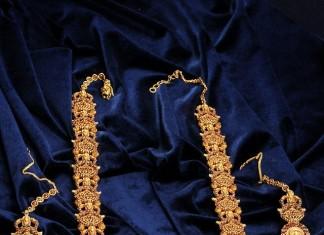 Temple Jewellery Haram Designs