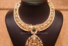 Uncut Diamond Nakshi Necklace