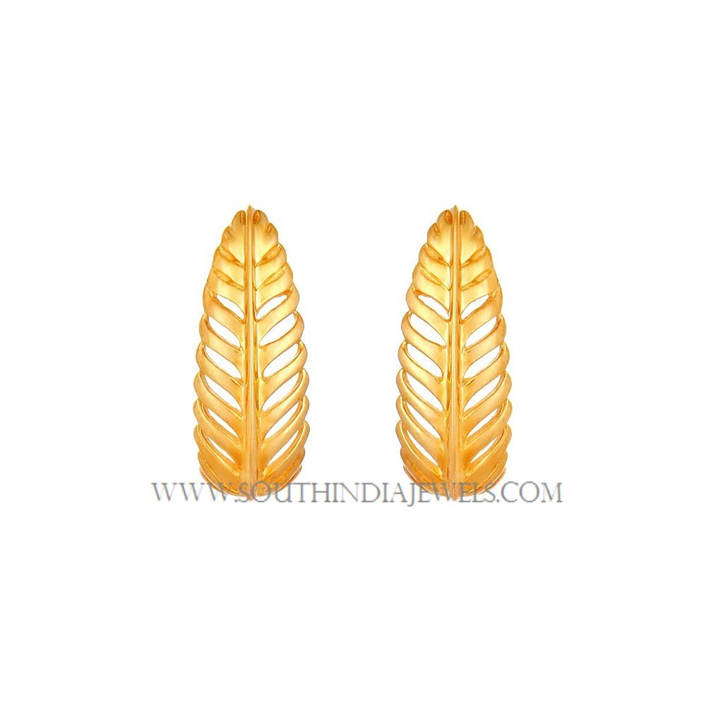 Gold Earrings Designs in 2 Grams