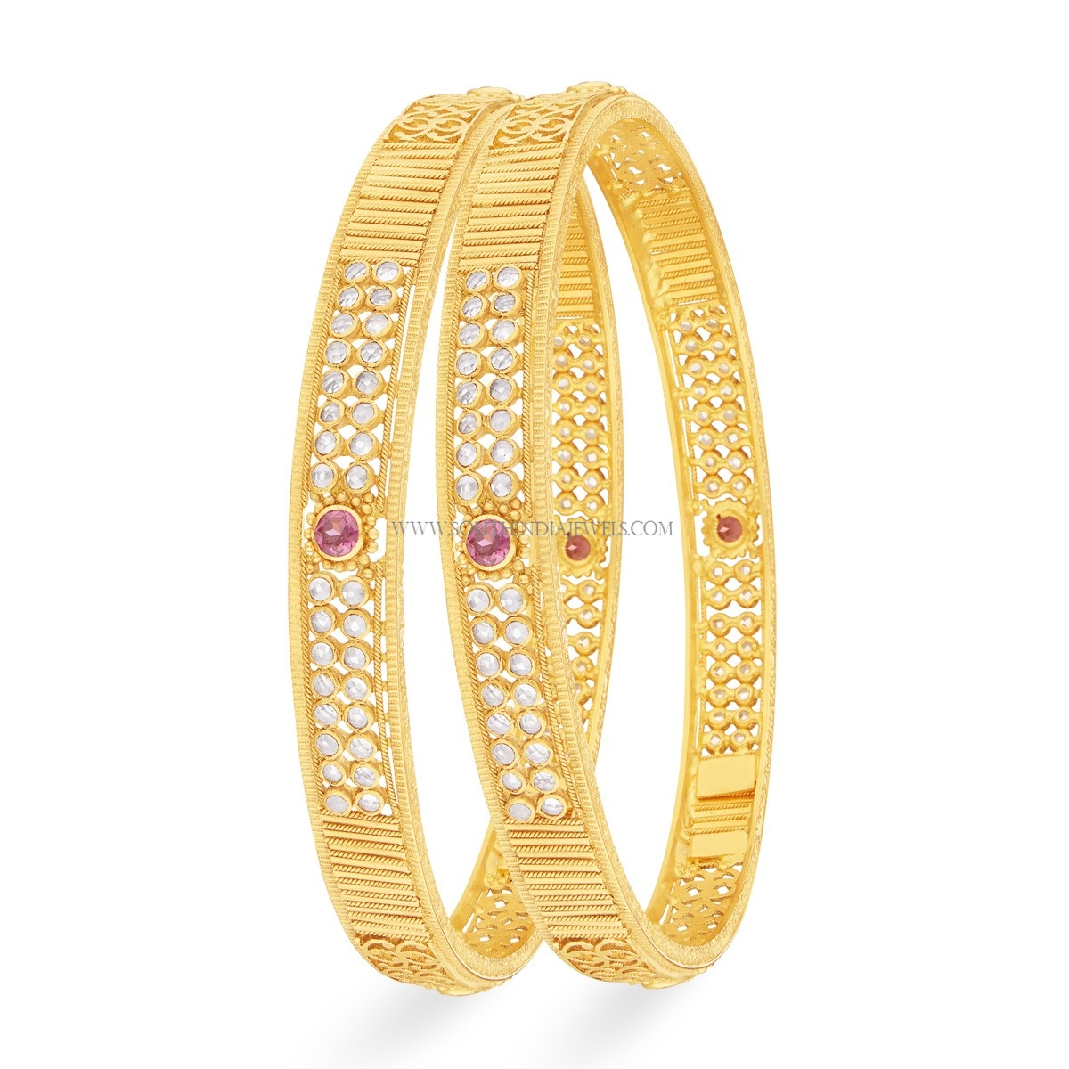 gold bangle kangan designs with price and weight south