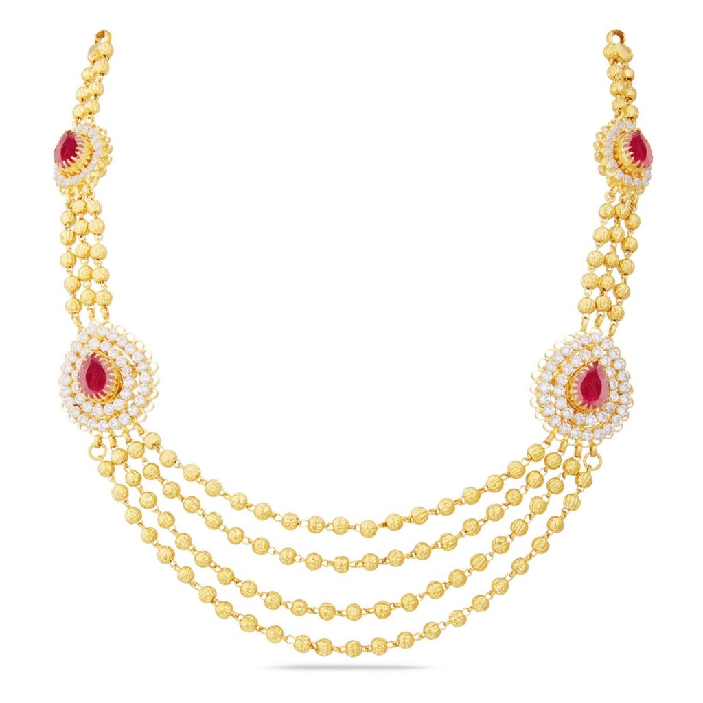 Gold Necklace Designs in 30 Grams with Price