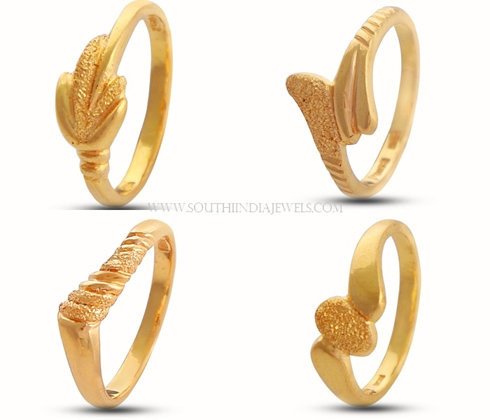 gold ring designs for female south india jewels