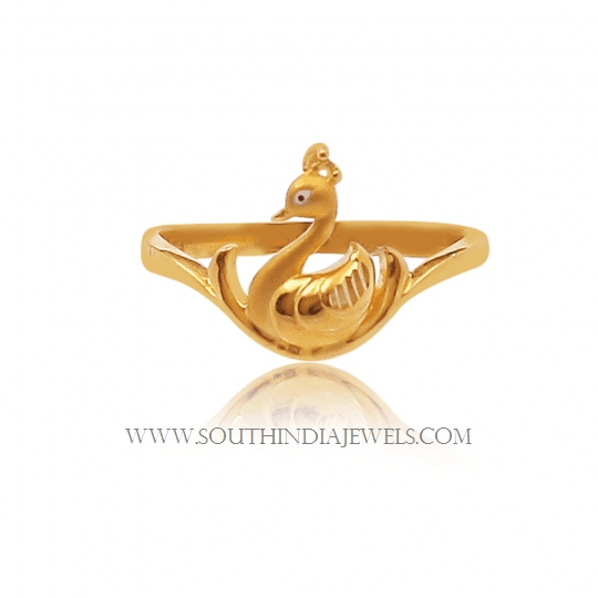 gold ring design for female without stone