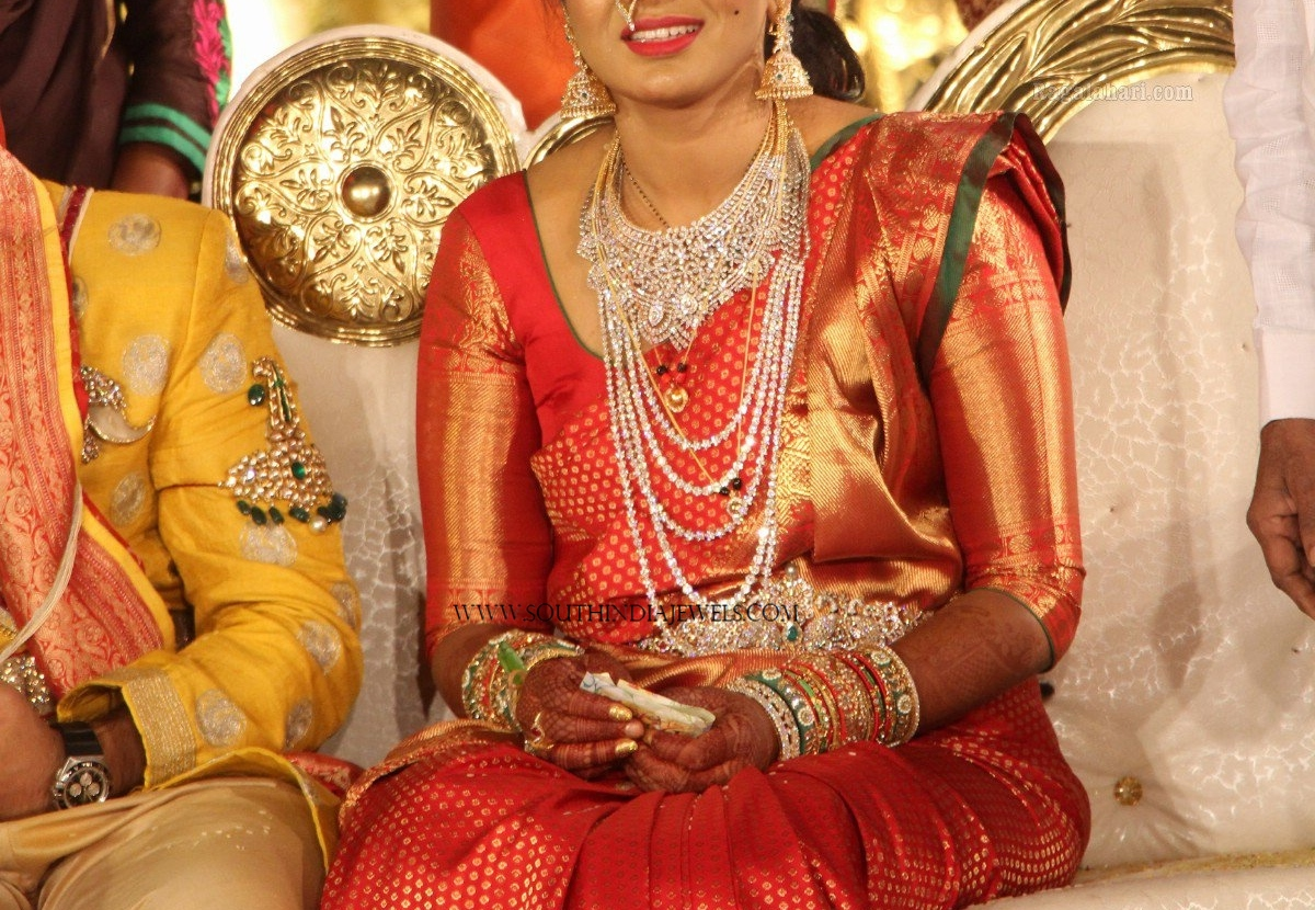 Latest Gold Jewellery Designs for Wedding ~ South India Jewels