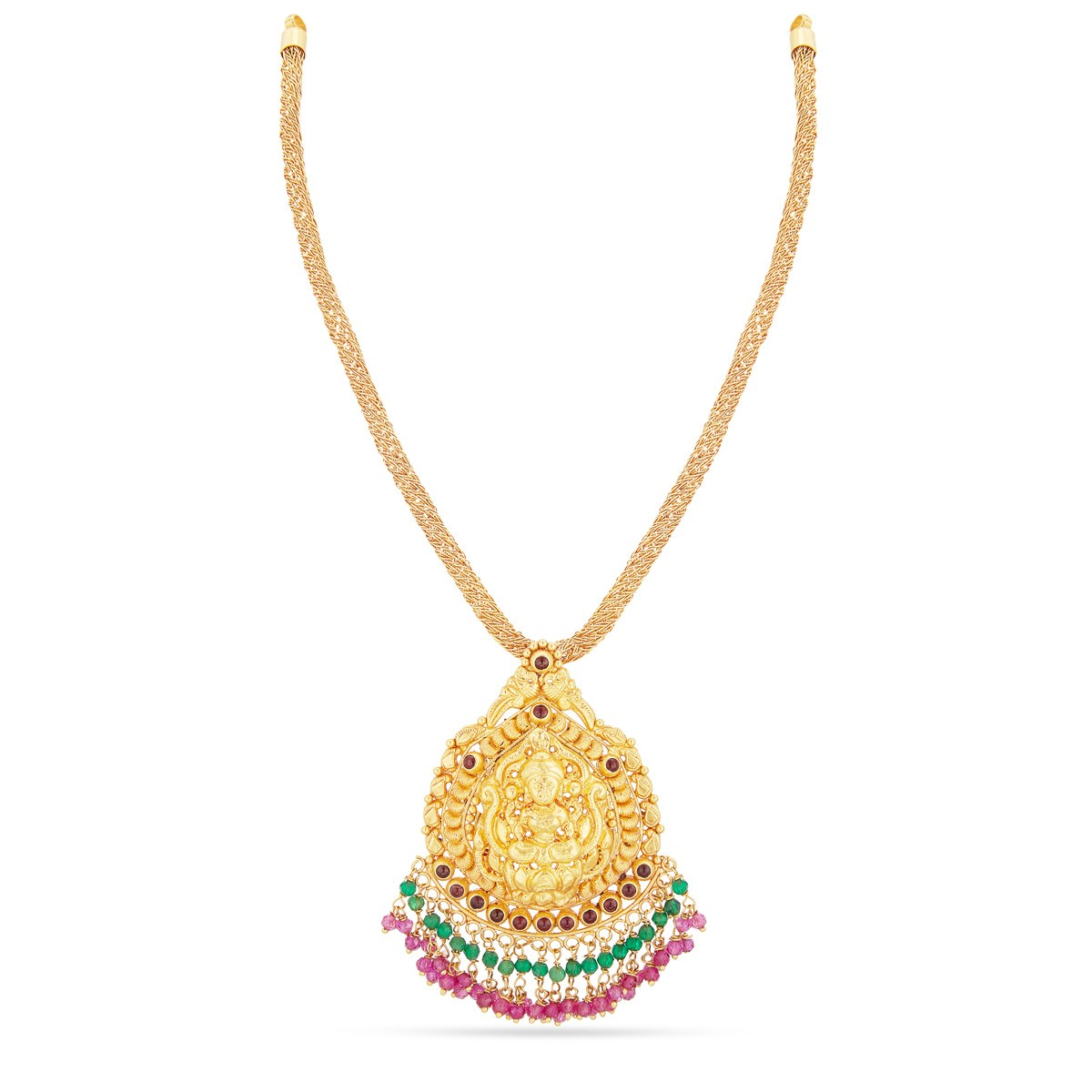 Light Weight Gold Necklace Designs With Price in Rupees ~ South ...