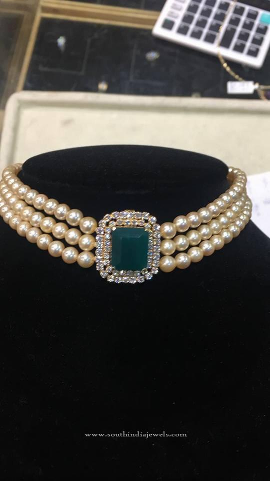 Original Pearl Choker Necklace
