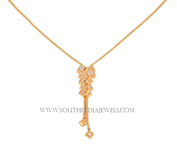 Tanishq Lightweight Gold Necklace Designs With Price South