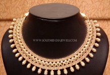 Uncut Diamond Choker Necklace