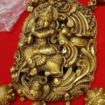 160 Grams Gold Neclace With Krishna Pendant