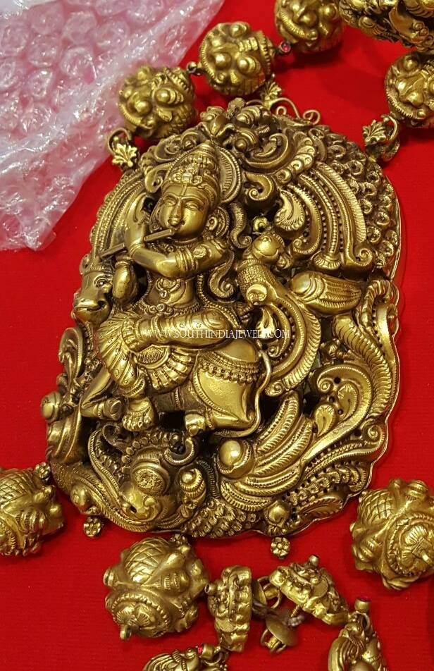 160 Grams Krishna Pendant Necklace