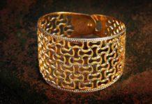 Big Gold Cuff From Rakesh Jewellers