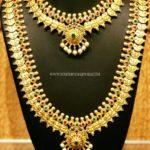 Bridal Gold Coin Necklace Set