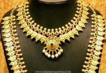 Bridal Gold Coin Necklace Set