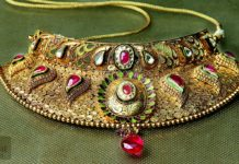 Designer Choker Necklace from Rakesh Jewellers