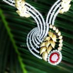 Designer Diamond Necklace From Rakesh Jewellers