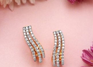 Diamond Ear Stud Design