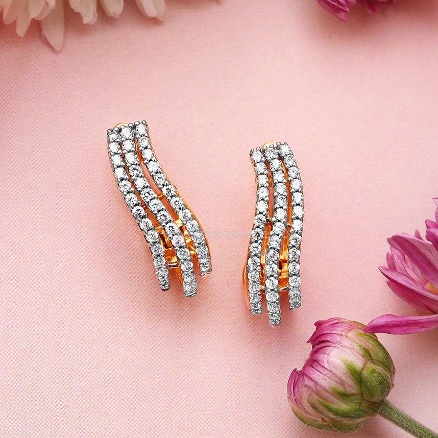 Diamond Ear Stud Design