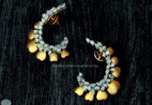 Diamond Ear Stud from Rakesh Jewellers