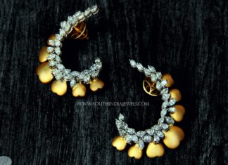 Diamond Ear Stud from Rakesh Jewellers