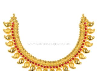 Gold Necklace Designs in 40 Grams
