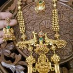 Gold Plated Antique Long Necklace With Price