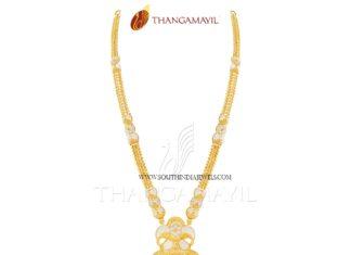Latest Long Haram Design from Thangamayil