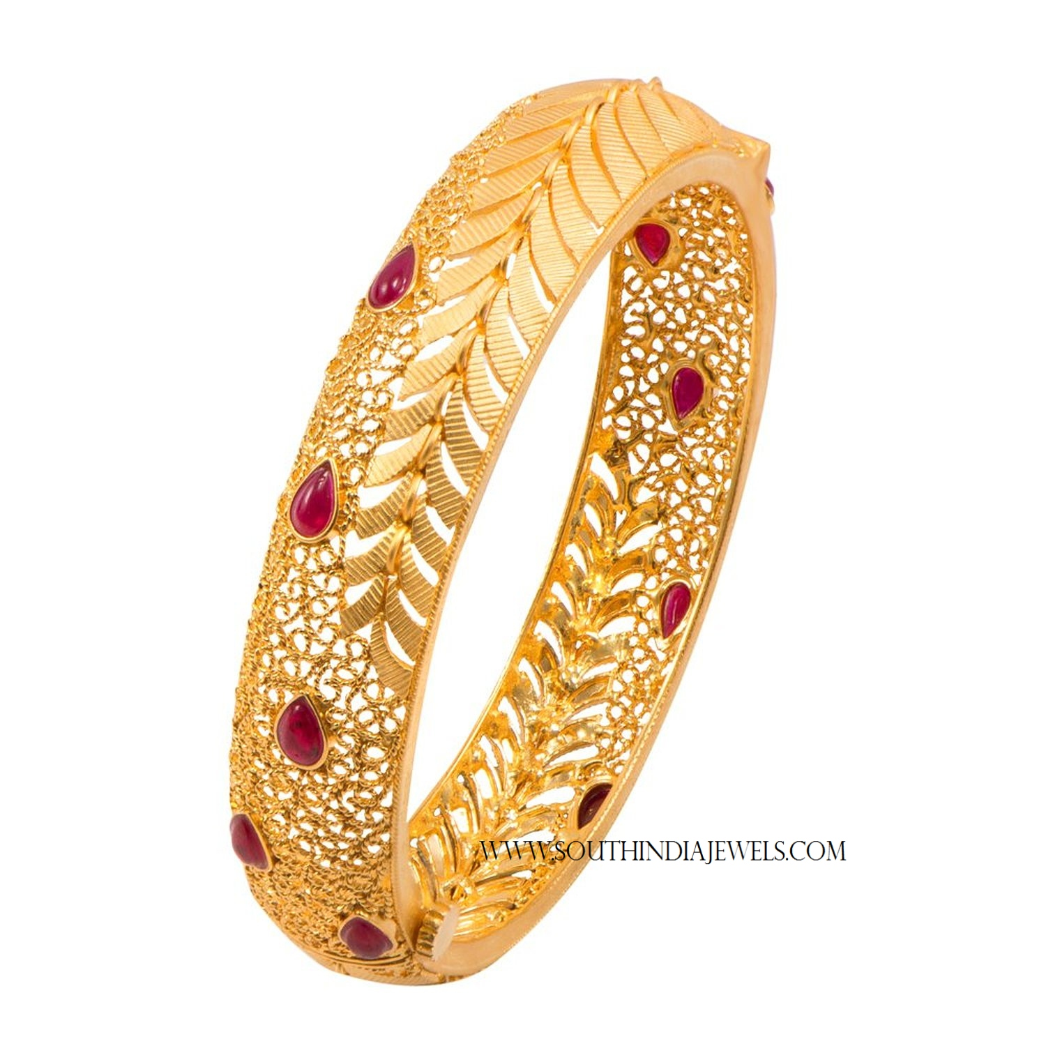 delicately product gold plated buy bangles kadas jewels designed of pair white galaxy