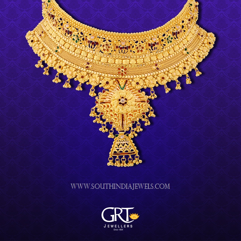 22K Gold Choker From GRT Jewellers
