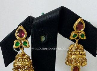22k Gold Simple Jhumka from New Sri Vasavi