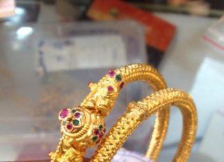 30 Grams Gold Bangles Designs