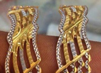 40 Grams Gold Bangle Model