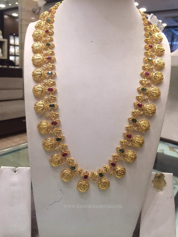 82 Grams Gold Long Necklace