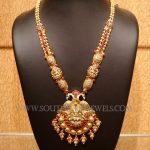 Antique Gold Ruby Haram From Naj