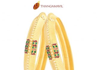 Gold Bangle From Thangamayil Jewellery