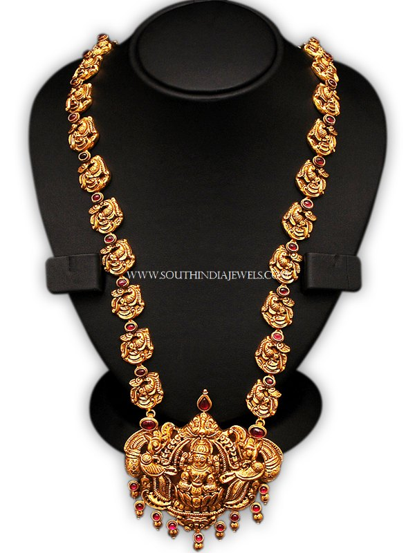 Gold Laksmi Haram From New Sri Vasavi
