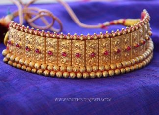 Gold Plated Thushi Necklace