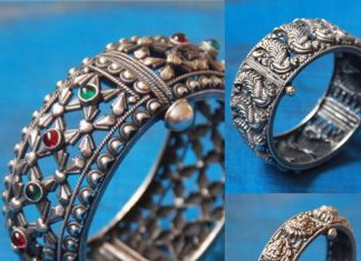 Silver Kada Bangles From Aatman