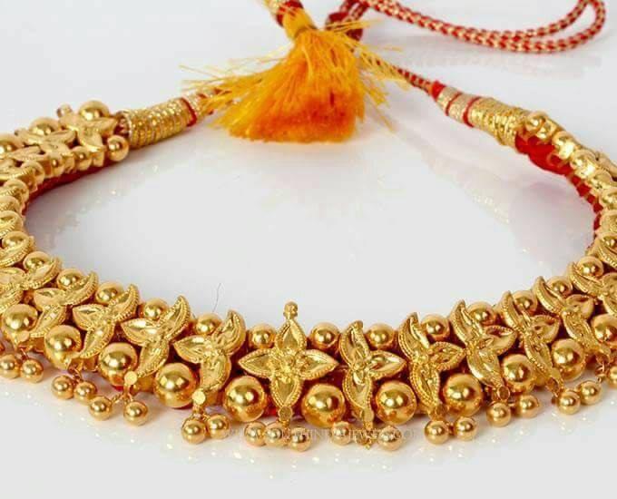 Traditional Maharashtrian Choker Necklace