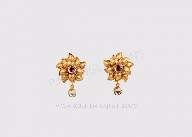 daily wear gold earrings designs