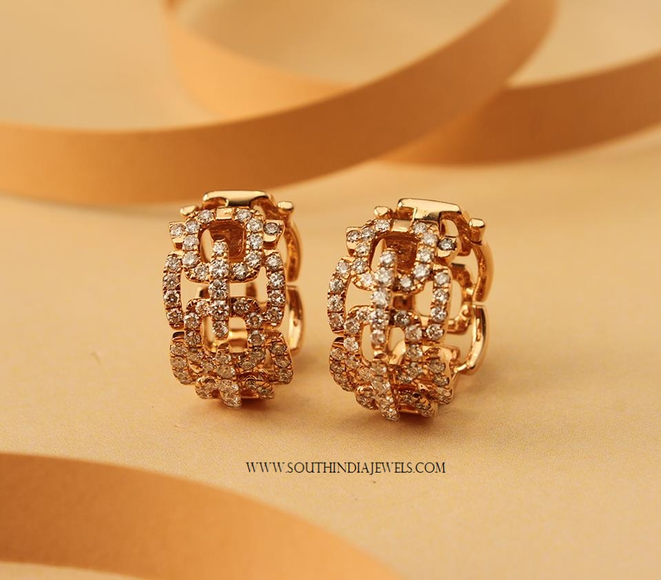 Diamond Ring Earrings